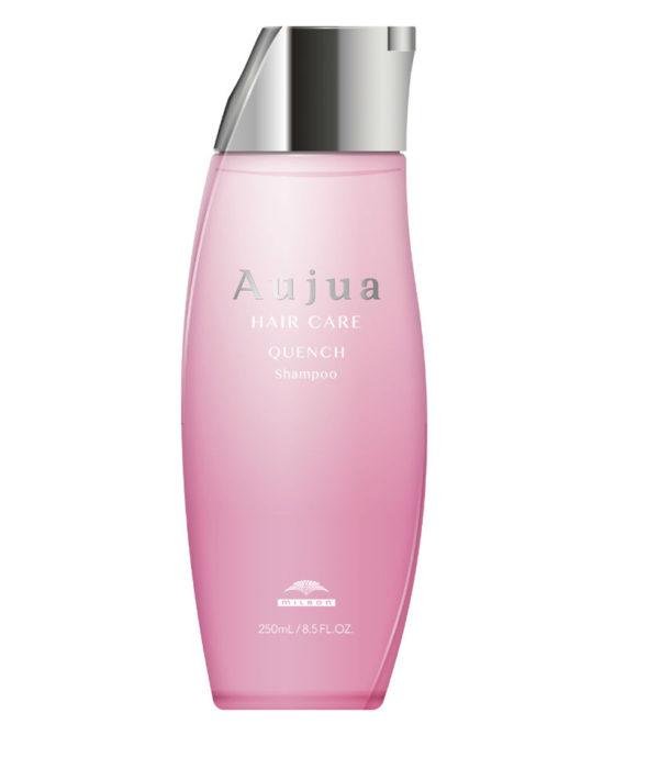 Milbon Aujua hair care QUENCH