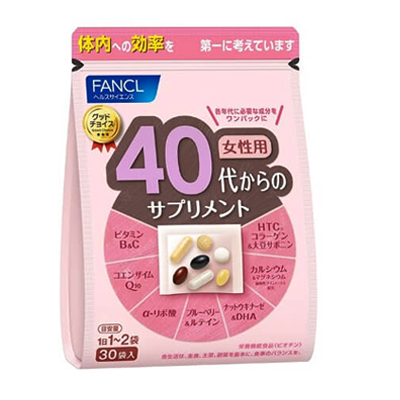 FANCL vitamins 40+ for woman